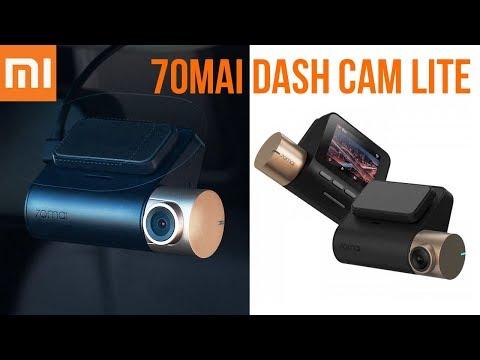 ВИДЕОРЕГИСТРАТОР Xiaomi 70Mai Dash Cam Lite + GPS МОДУЛЬ - АВТОМОБИЛЬ ПОД НАДЕЖНОЙ ЗАЩИТОЙ!