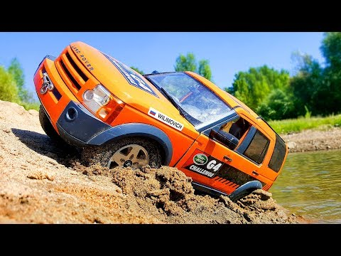 RC Trucks Sunny OFF Road Adventures — MST Land Rover Discovery And Tamiya Ford F350 High Lift 4x4