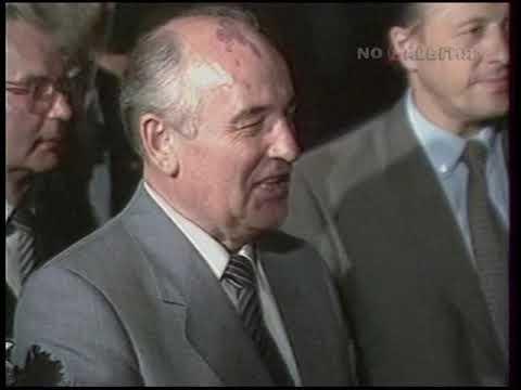 Горбачёв. Заявление Генерального секретаря ЦК КПСС 28.07.1986
