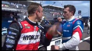 2016 Honda Indy Grand Prix Of Alabama - Bourdais/Aleshin Rivalry History