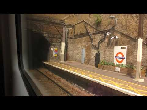 Full Journey On The London Overground From London Liverpool Street to Cheshunt