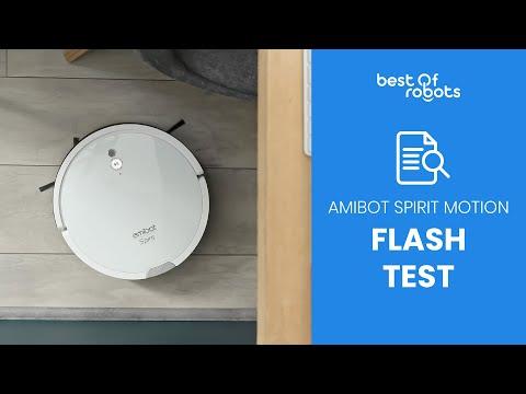 TEST LAVAGE & ASPIRATION AMIBOT SPIRIT MOTION