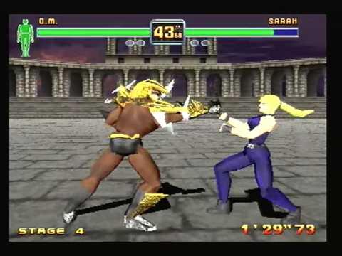 Fighters Megamix Walkthrough - Dural vs  Dural by JakeDavies
