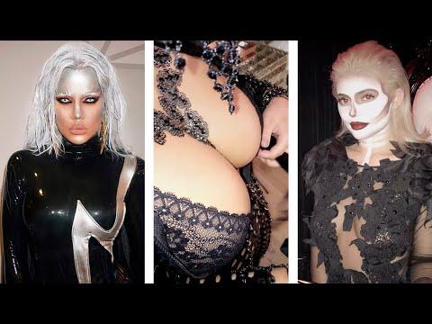 10 КОСТЮМОВ на Хеллоуин от КАРДАШЬЯН