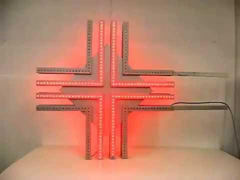 Guarda il video Croce LED Parafarmacia SiRiO 90
