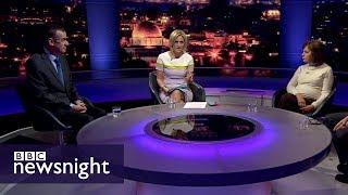 Trump's Jerusalem announcement: Interview with Mark Regev and Ghada Karmi – BBC Newsnight