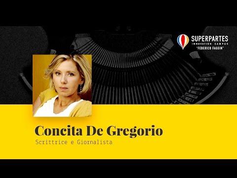 Intervento di Concita De Gregorio, Scrittrice e Giornalista