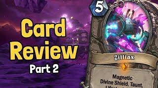 Legendary Mech Zilliax & More Mechs - Boomsday Card Review Part 2 - Hearthstone