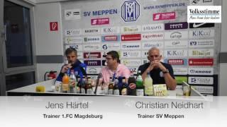 Pressekonferenz in Meppen
