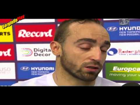 VIDEO: Ricardinho emocionou-se no Hat. trick | Master Cup 2015 | Benfica x Movistar 2-3 (23/08/2015)