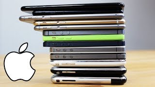 Tous les iPhone depuis 2007 !
