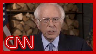 Bernie Sanders tells supporters to vote Biden during DNC speech