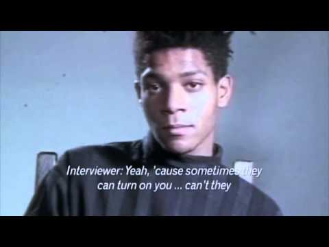 JEAN-MICHEL BASQUIAT INTERVIEW - 1985