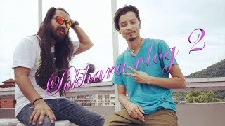 Pokhara GuitarShop Vlog The Elements & featured Rap Aauchu Farkera by Alish x Prabhat ft Lochan Rai
