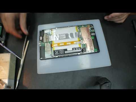 Ремонт Asus Nexus 7: не заряжается, не определяется компьютером