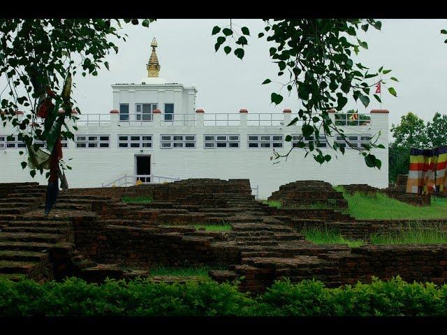 The Buddha was born in Lumbini