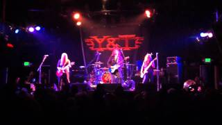 Y&T If You Want Me at The Catalyst Santa Cruz 2/11/12