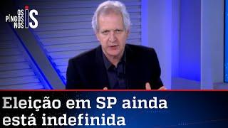 Augusto Nunes: Institutos de pesquisa se defendem com margem de erro