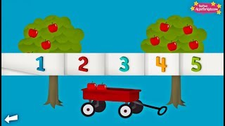 Counting Game & Number Song ⭐️ Learn To Count From 1 To 20 With TallyTots App For Kids