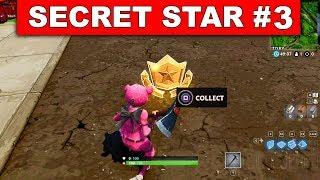 SECRET BATTLE STAR WEEK 3 SEASON 5 LOCATION! - Fortnite Battle Royale (Road Trip Challenges)
