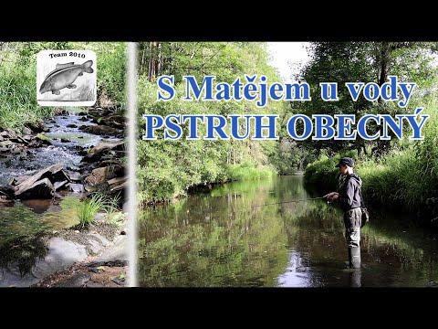 S Matějem u vody - Pstruh obecný