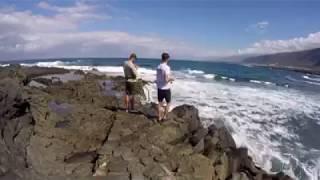 Pescando a pie del veril - Light Rockfishing