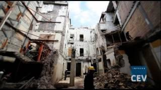 preview picture of video 'Palazzo ex Unione Militare, le demolizioni e il consolidamento strutturale'