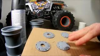 Tips And Information | How To Assemble A Monster Truck Wheel And Tire.