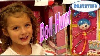 Hey Squishy Head! | Lalaloopsy Doll Hunt (WK 140.2) | Bratayley