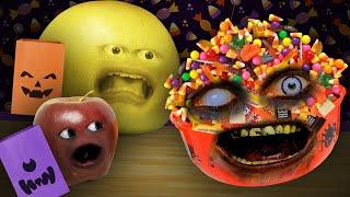 The Annoying Orange - Trick Or Treat Challenge! #SHOCKTOBER