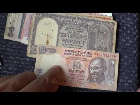 Old indian currency Notes - игровое видео смотреть онлайн на
