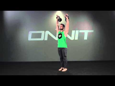 Double Kettlebell Hike Swing to Snatch