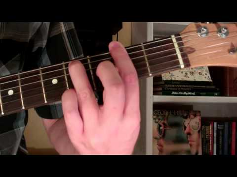How To Play the F#m9 Chord On Guitar (F sharp minor ninth) 9th