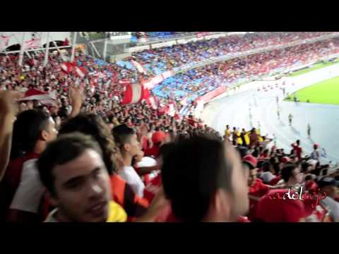 """""""Sigo estando a tu lado - Barón Rojo Sur - América 1 Llaneros 1"""" Barra: Baron Rojo Sur • Club: América de Cáli"""