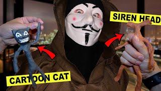 GAME MASTER gibt GEHEIME SIREN HEAD & CARTOON CAT VOODOO PUPPE um 3 UHR NACHTS!! | KAMBERG TV