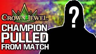 WWE Champion Pulled From Crown Jewel 2019 Match | AEW vs NXT Ratings