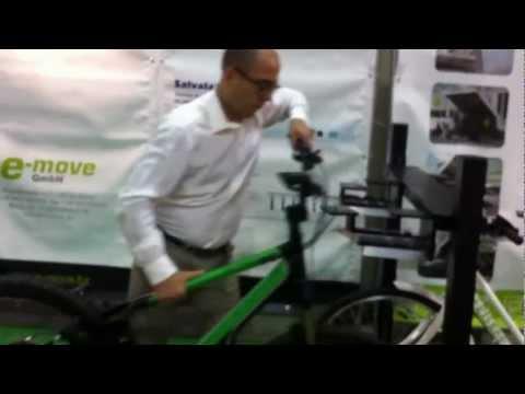 Sistema di blocco antifurto delle biciclette