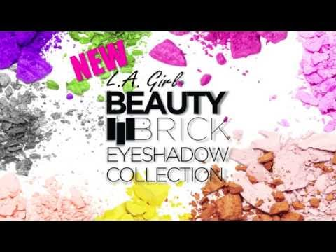 Beauty Brick Eyeshadow Collection - video