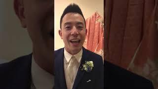 Wedding Testimonial Groom's Review