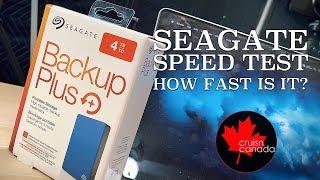 Seagate Backup Plus 4TB Portable Speed Test