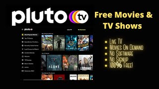 Watch Free Movies And TV Show On Your Computer With Pluto TV