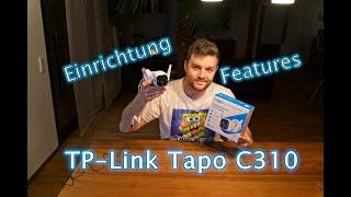 TP-Link Tapo C310 Einrichtung & Funktionen - Outdoor W-Lan Kamera