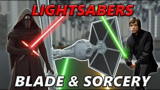 FIGHTING SITH IN AN IMPERIAL HANGER IN VR - BLADE AND SORCERY LIGHRSABER