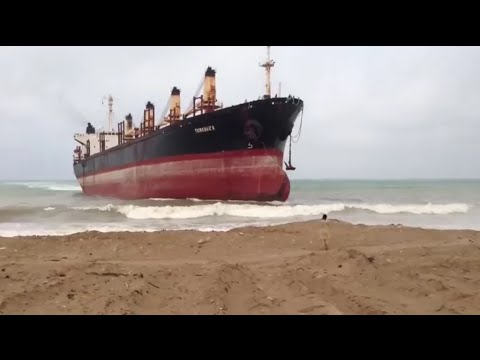 TOP 5 SHIPS CRASHING INTO SHORE