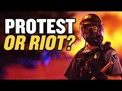 Mírumilovné protesty a násilná rabování – co se přesně děje?