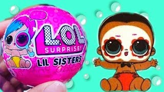 НОВЫЙ МАЛЬЧИК ЛОЛ ДЕКОДЕР! NEW BOYS LOL Surprise Series 4 Wave 2 LiL Sisters and Lil Brothers