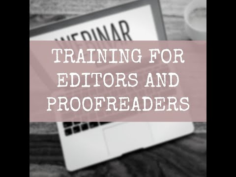 Online training courses for editors and proofreaders by Louise ...