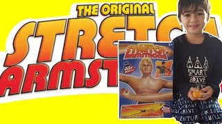 Unboxing Stretch Armstrong | How Far Does This Toy Stretch?