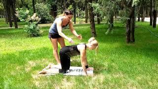 Разрабатываем и улучшаем подвижность тазобедренных суставов часть 1.