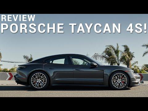 External Review Video 5kIpwxZ4XSE for Porsche Taycan Turbo & Turbo S Electric Sedan